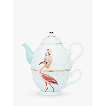 Buy Yvonne Ellen Parrot and Flamingo Tea For One Teapot, Multi Online at johnlewis.com