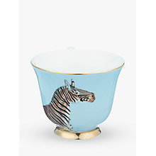 Buy Yvonne Ellen Zebra and Parrot Teacup and Saucer Online at johnlewis.com