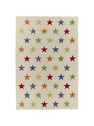 Great Little Trading Co Star Children's Rug, Large