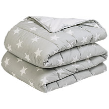 Buy Great Little Trading Co Quilted Star Print Bedspread Online at johnlewis.com