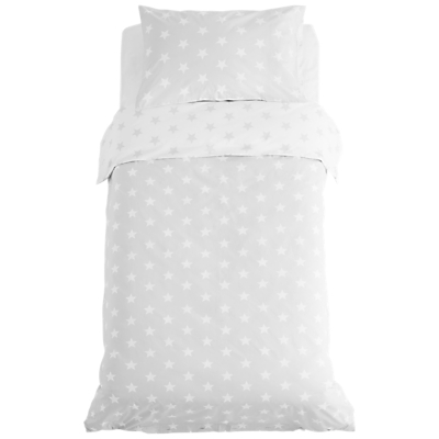 Product photo of Great little trading co reversible star duvet cover set single