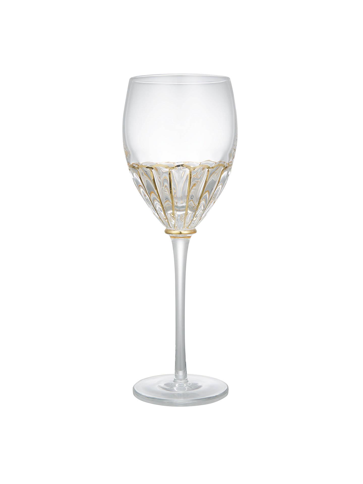 john lewis gold fan red wine glass 370ml at john lewis. Black Bedroom Furniture Sets. Home Design Ideas