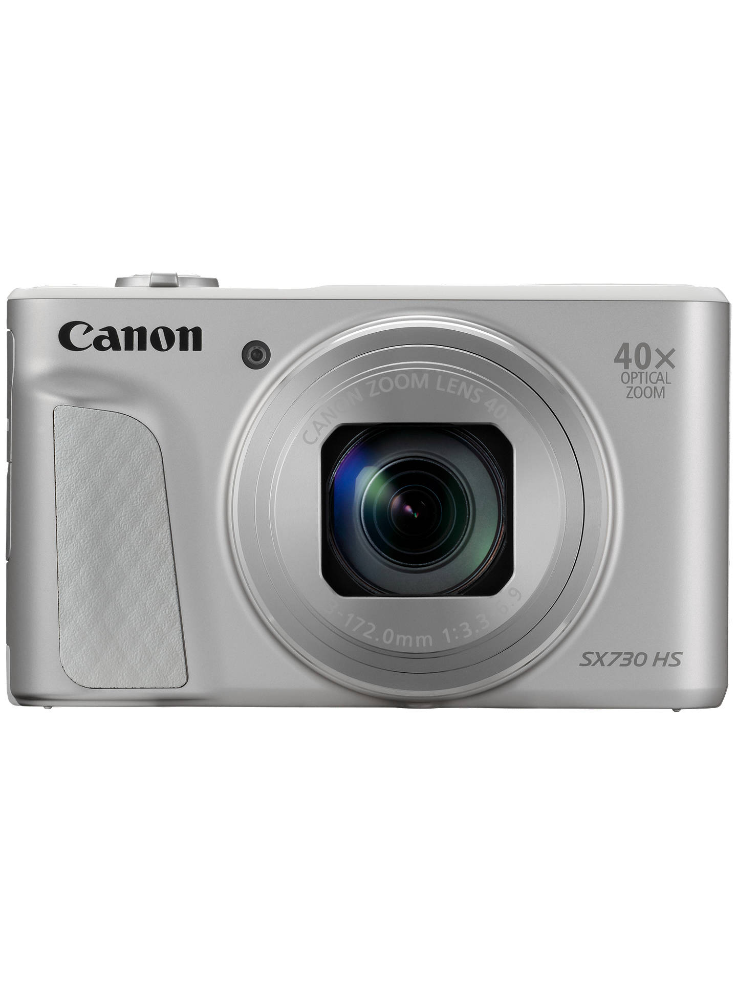 "Buy Canon PowerShot SX730 Digital Camera, HD 1080p, 20.3MP, 40x Optical Zoom, Wi-Fi, Bluetooth, NFC, 3"" Tiltable Screen with Joby GorillaPod Original Tripod & Travel Case, Silver Online at johnlewis.com"