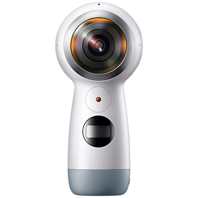 Samsung Gear 360 2017 Action Camcorder, 360° Recording, 4K UHD, Wi-Fi, Bluetooth, Dust & Splash Resistant