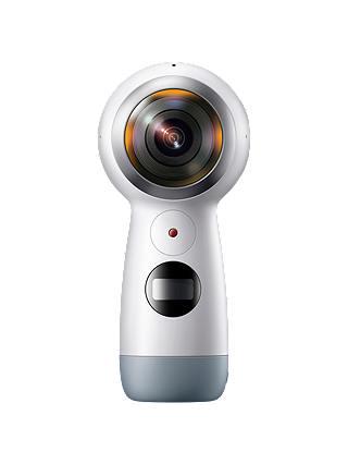 Samsung Gear 360 2017 Action Camcorder, 360° Recording, 4K UHD, Wi-Fi,  Bluetooth, Dust & Splash Resistant