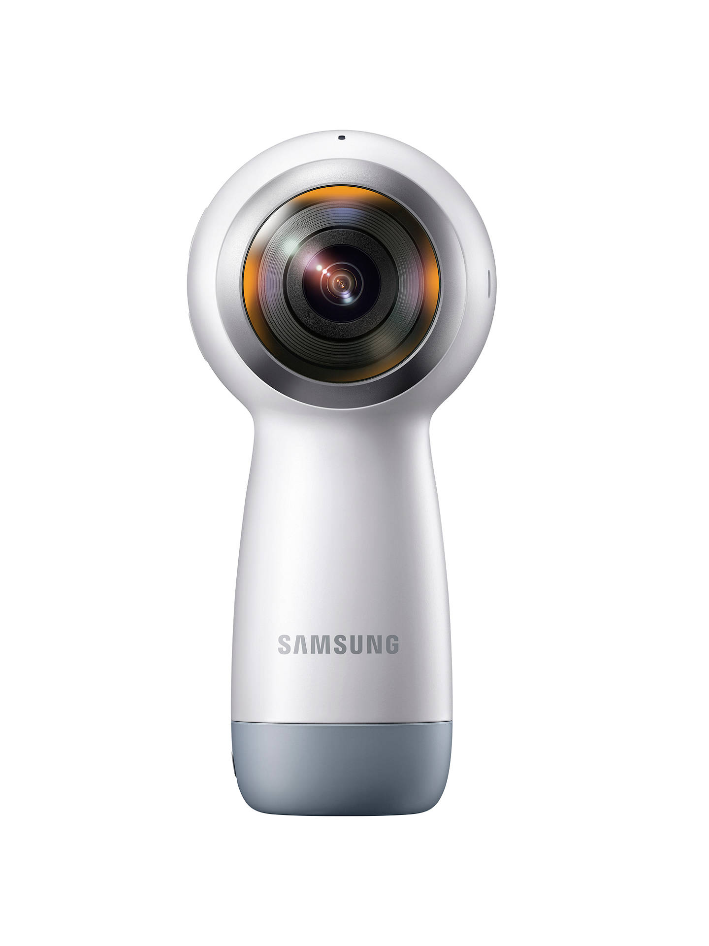 BuySamsung Gear 360 2017 Action Camcorder, 360° Recording, 4K UHD, Wi-Fi, Bluetooth, Dust & Splash Resistant Online at johnlewis.com
