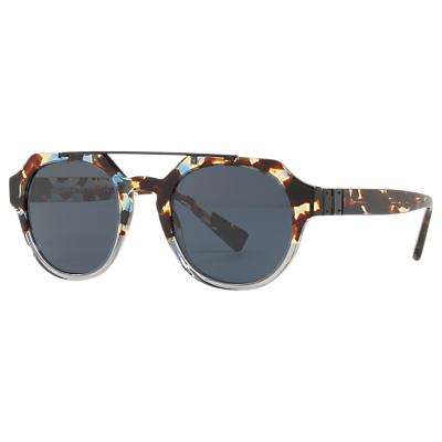 Dolce & Gabbana DG4313 Oval Sunglasses, Tortoise