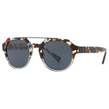 Buy Dolce & Gabbana DG4313 Oval Sunglasses, Tortoise Online at johnlewis.com