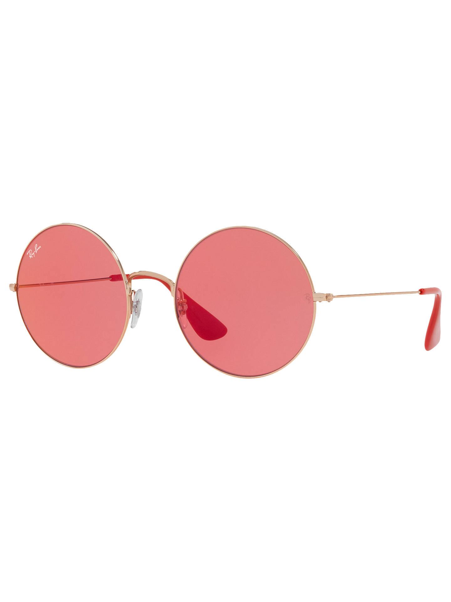 59b5ae1137 Ray-Ban RB3592 Ja-Jo Round Sunglasses at John Lewis   Partners