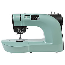 Buy Toyota Oekaki Renaissance Sewing Machine, Green Online at johnlewis.com