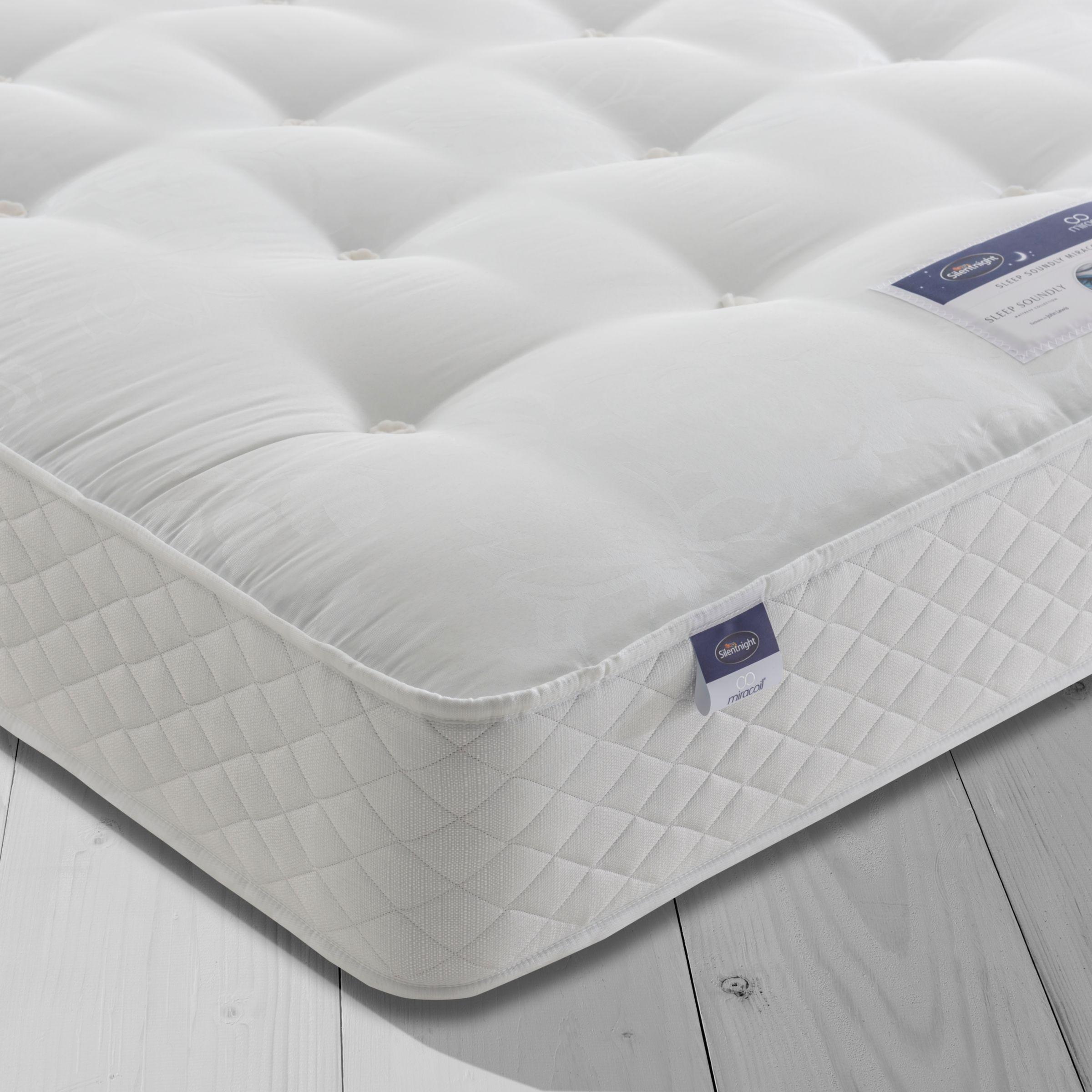 Silentnight Silentnight Sleep Soundly Miracoil Ortho Mattress, Firm, Double