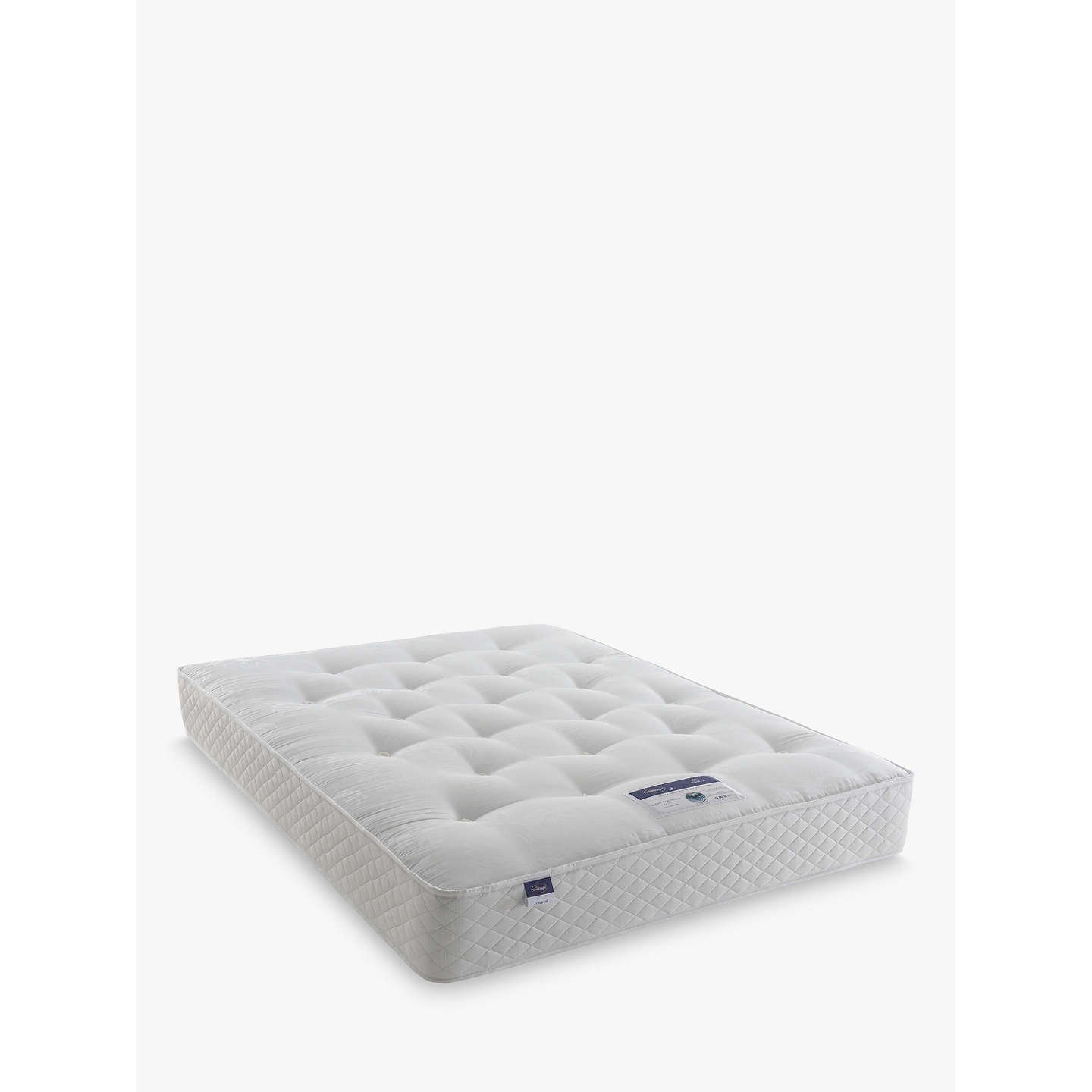 BuySilentnight Sleep Soundly Miracoil Ortho Mattress, Firm, Double Online at johnlewis.com