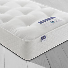 Buy Silentnight Sleep Soundly Miracoil Ortho Mattress, Firm, Single Online at johnlewis.com