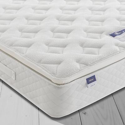 Silentnight Sleep Soundly Miracoil Pillow Top Mattress, Firm, Double