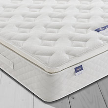 Buy Silentnight Sleep Soundly Miracoil Pillow Top Mattress, Medium, Double Online at johnlewis.com