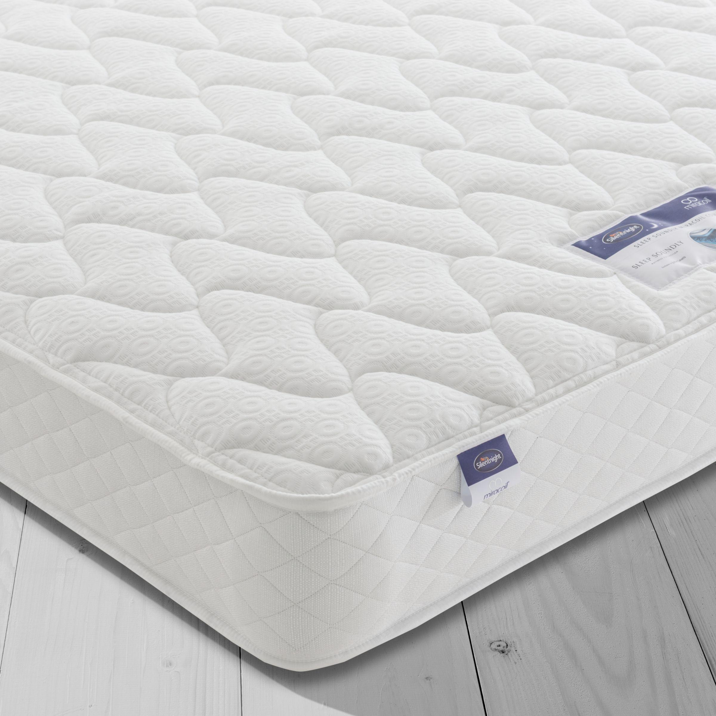 Silentnight Silentnight Sleep Soundly Miracoil Comfort Mattress, Firm, Double
