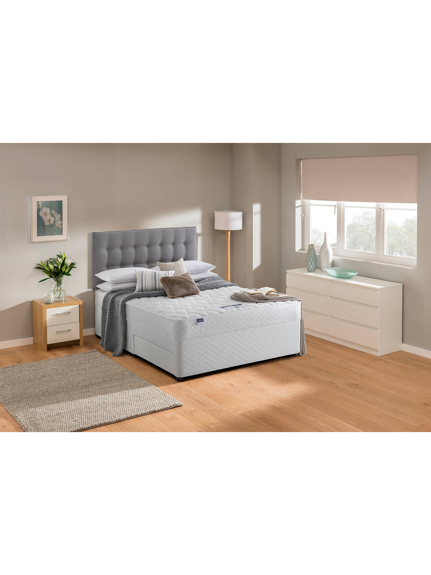 BuySilentnight Sleep Soundly Miracoil Comfort Mattress, Firm, Double Online at johnlewis.com