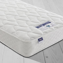Buy Silentnight Sleep Soundly Miracoil Comfort Mattress, Firm, Single Online at johnlewis.com