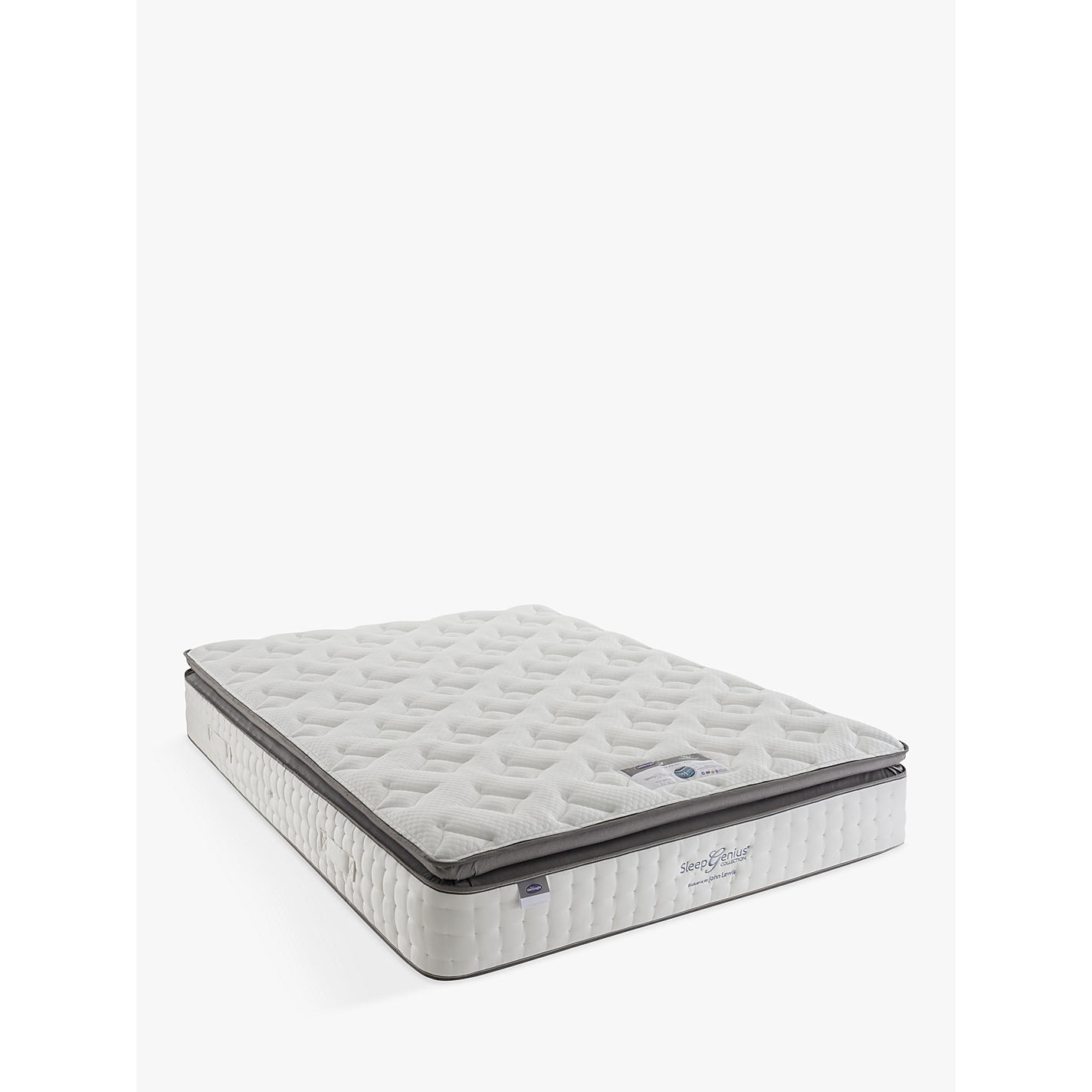 Buy Silentnight Sleep Genius 2800 Pocket Latex Mattress Soft