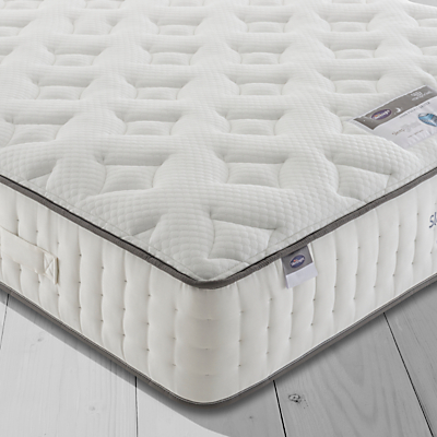 Silentnight Sleep Genius 2000 Pocket Geltex Mattress, Medium, King Size