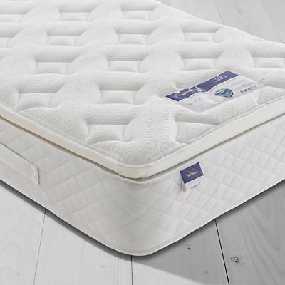 Silentnight Sleep Soundly Miracoil Pillow Top Mattress, Medium, Single