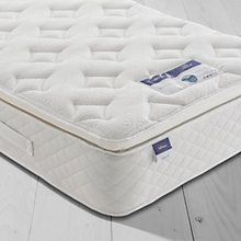 Buy Silentnight Sleep Soundly Miracoil Pillow Top Mattress, Medium, Single Online at johnlewis.com