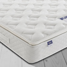 Buy Silentnight Sleep Soundly Miracoil Pillow Top Mattress, Medium, King Size Online at johnlewis.com