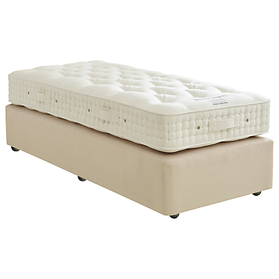 Vispring Exeter Superb Divan Base and Mattress Set, FSC-Certified (Spruce, Redwood, Beech), Medium, Single