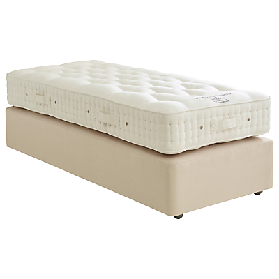 Vispring Modbury Superb Divan Base and Mattress Set, FSC-Certified (Spruce, Redwood, Beech), Medium, Single