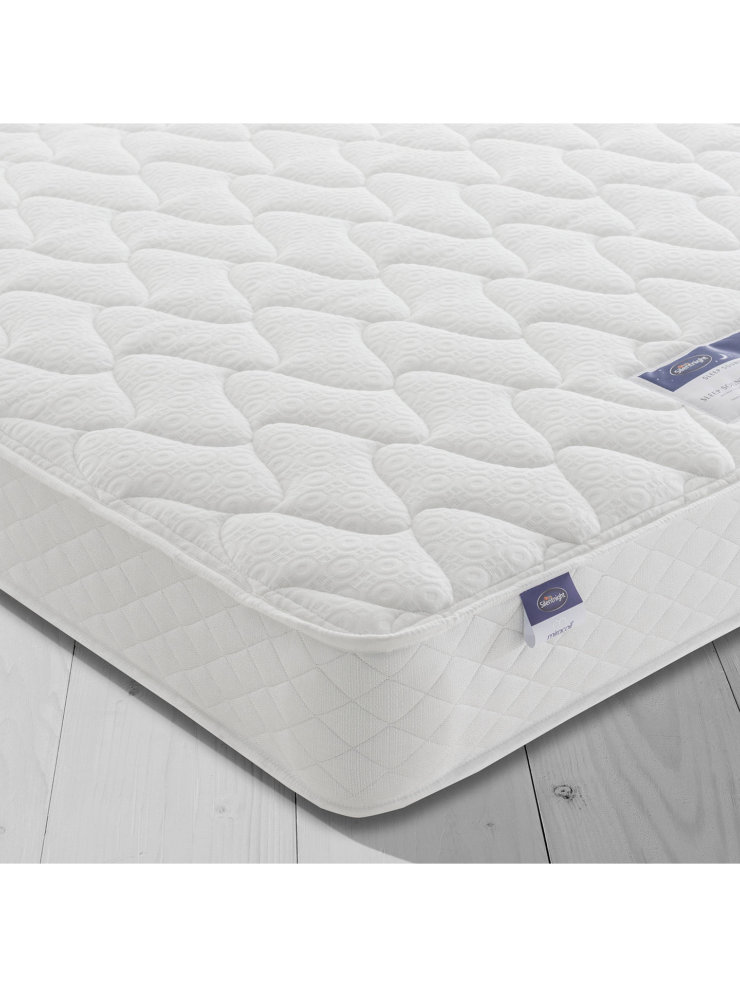 low priced 0ef17 79206 Silentnight Sleep Soundly Miracoil Comfort Mattress, Firm, Super King Size