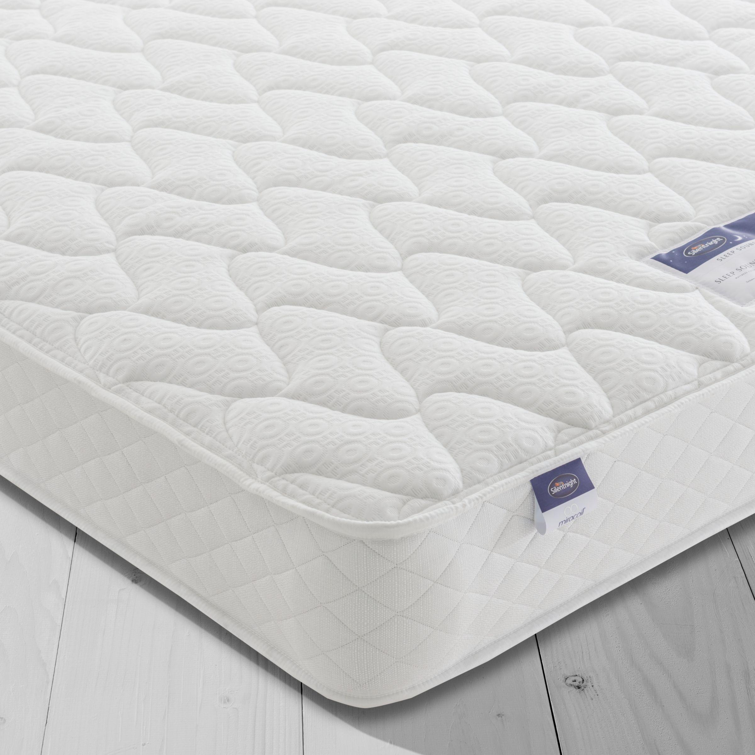 Silentnight Silentnight Sleep Soundly Miracoil Comfort Mattress, Firm, Super King Size