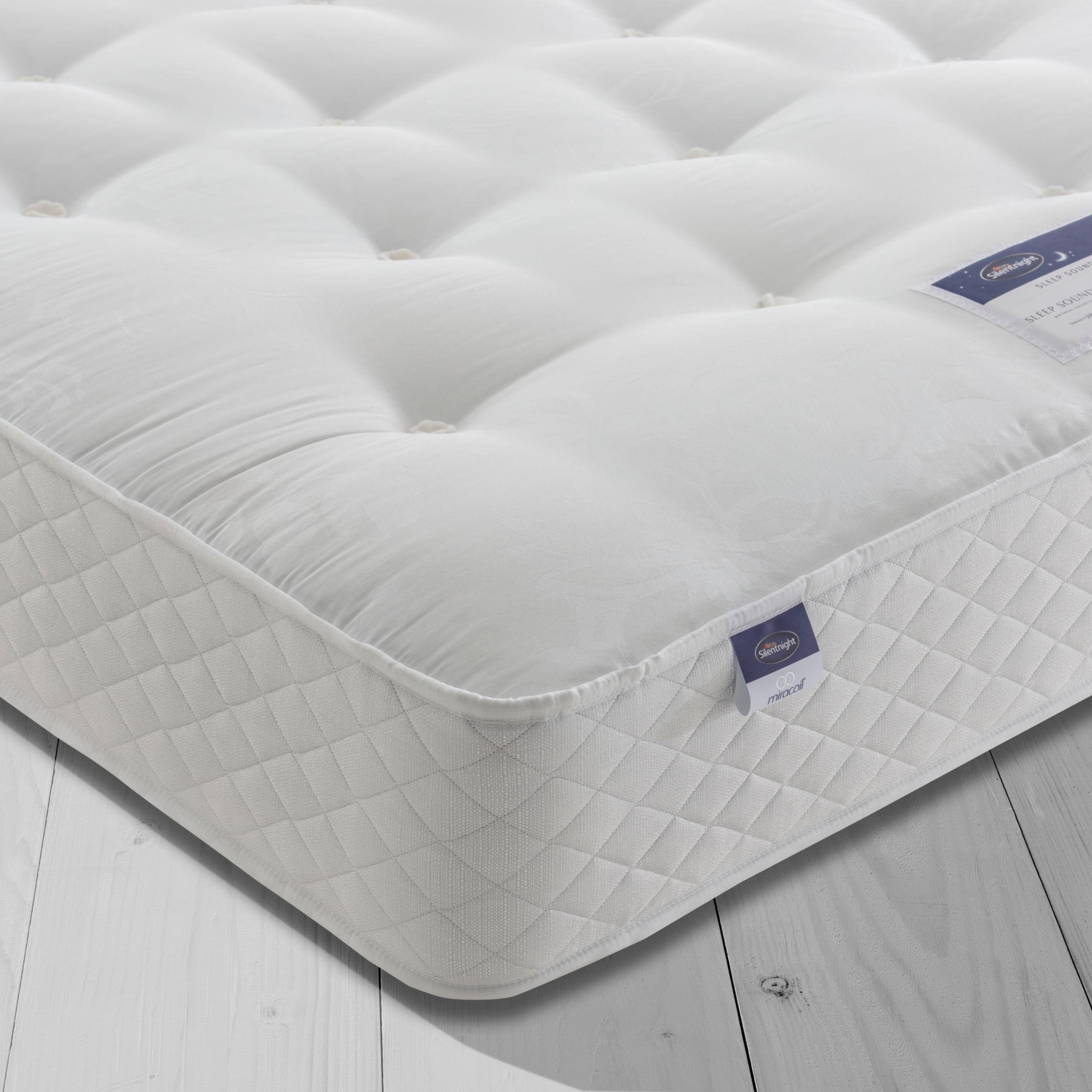 Silentnight Silentnight Sleep Soundly Miracoil Ortho Mattress, Firm, Super King Size