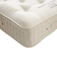 Buy Vispring Axminster Superb Mattress, Medium, Extra Long Single Online at johnlewis.com