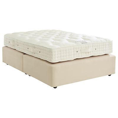 Vispring Exeter Superb Divan Base and Mattress Set, FSC-Certified (Spruce, Redwood, Beech), Medium, Double