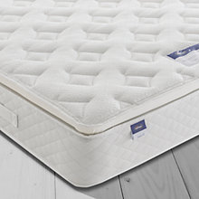 Buy Silentnight Sleep Soundly Miracoil Pillow Top Mattress, Medium, Super King Size Online at johnlewis.com