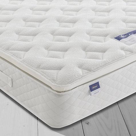buy silentnight sleep soundly miracoil pillow top mattress medium super king size online at - King Size Pillow Top Mattress