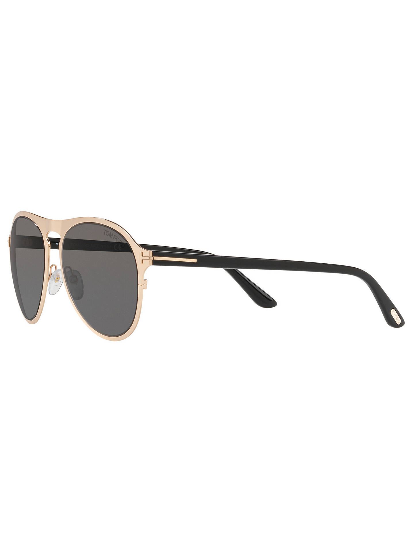 746ff420102c TOM FORD TF0525 Bradburry Aviator Sunglasses at John Lewis   Partners