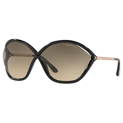 TOM FORD FT0529 Bella Outsize Wrap Sunglasses