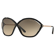 Buy TOM FORD FT0529 Bella Outsize Wrap Sunglasses Online at johnlewis.com
