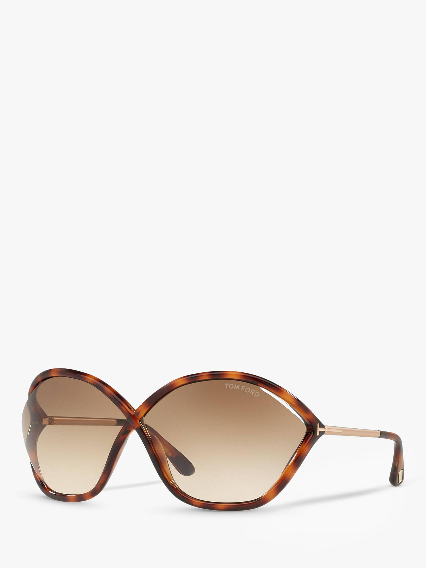b4cef125979 TOM FORD FT0529 Bella Outsize Wrap Sunglasses at John Lewis   Partners