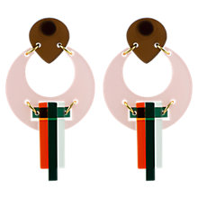 Buy Toolally The Peacock Drop Earrings Online at johnlewis.com