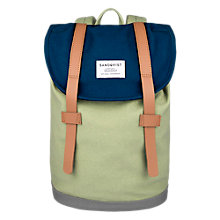 Buy Sandqvist Stig Mini Organisation Canvas Backpack Online at johnlewis.com