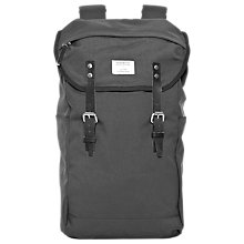 Buy Sandqvist Hans Urban Outdoor Backpack, Dark Grey Online at johnlewis.com