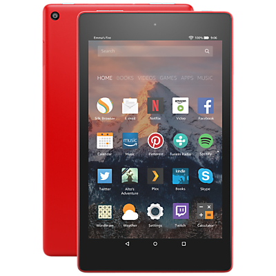 Image of New Amazon Fire HD 8 Tablet with Alexa, Quad-Core, Fire OS, Wi-Fi, 32GB, 8, with Special Offers
