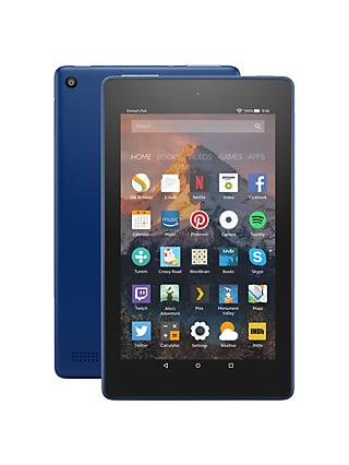 "New Amazon Fire 7 Tablet with Alexa, Quad-core, Fire OS, 7"", Wi-Fi, 8GB, 7"", with Special Offers"