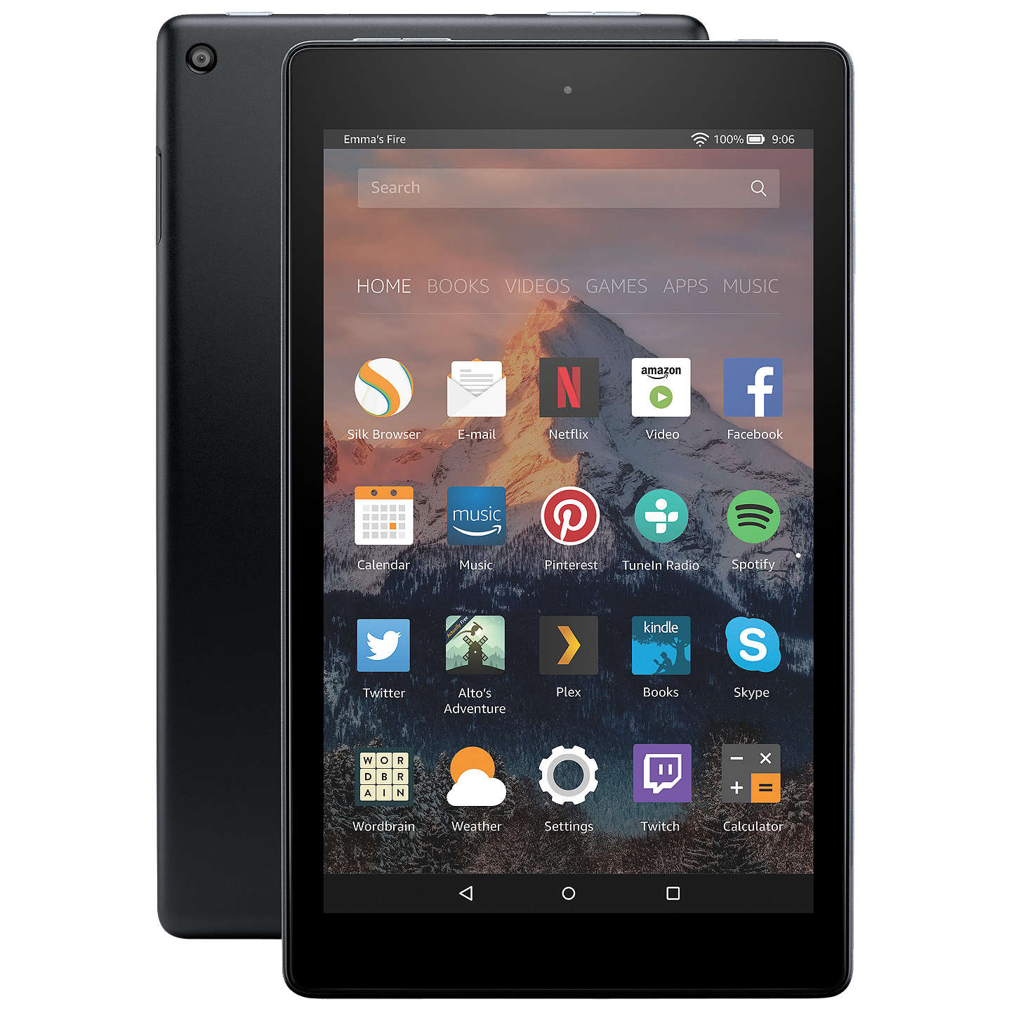New Amazon Fire HD 8 Tablet with Alexa Quad Core Fire OS Wi Fi