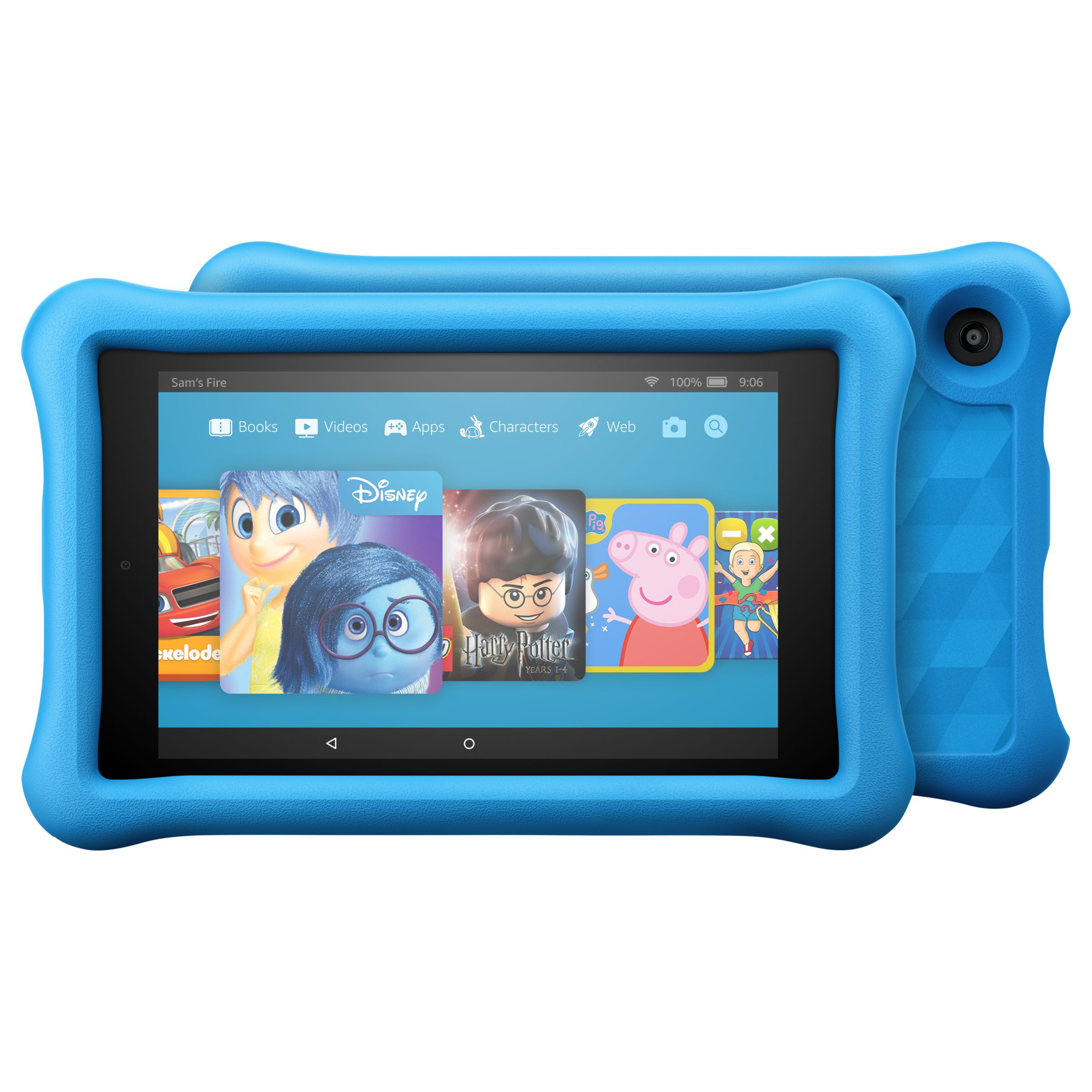 "Amazon Fire HD 8 Kids Edition Tablet with Kid-Proof Case, Quad-core, Fire OS, Wi-Fi, 32GB, 8"", Blue"