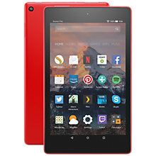 "Buy New Amazon Fire HD 8 Tablet with Alexa, Quad-Core, Fire OS, Wi-Fi, 16GB, 8"", With Special Offers Online at johnlewis.com"