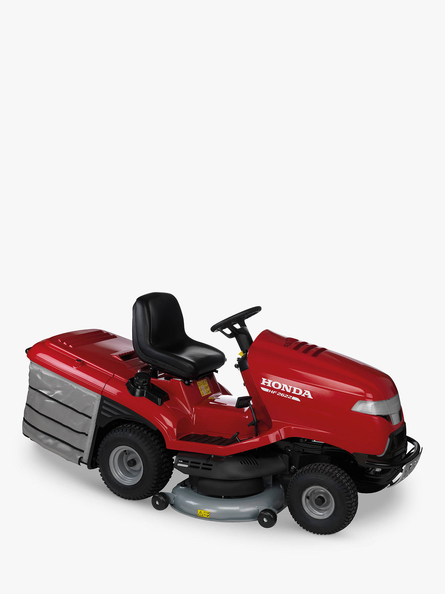 Ride On Mower >> Honda Hf2622ht Petrol Ride On Lawnmower