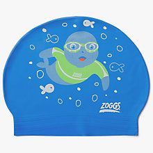 Buy Zoggs Children's Swimming Cap, Aqua Online at johnlewis.com